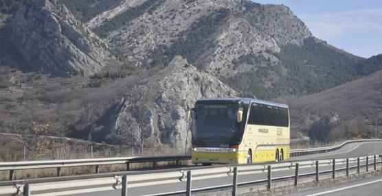 Un autobús de la compañía Alsa.
