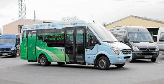Los dos nuevos microbuses para el Casco Histórico de Toledo se pondrán en marcha a finales de este año
