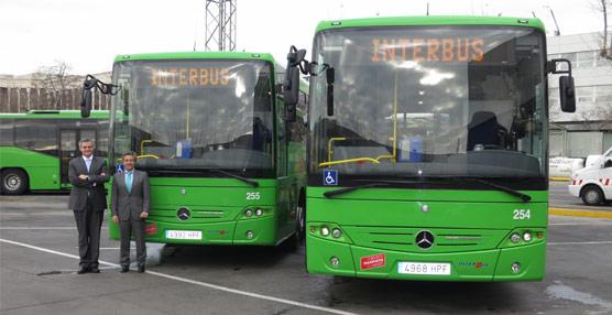 Interbus amplía su flota con dos nuevos autobusesIntouro de la firma alemana Mercedes-Benz