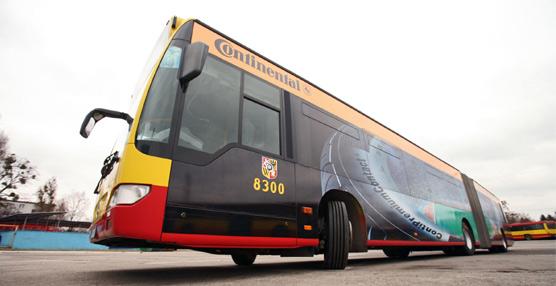 Continental presenta su nueva gama de neumáticos específica para el transporte regular de viajeros
