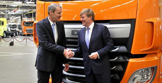 Comienza la producción del nuevo DAF XF, adaptado a Euro 6, con una inversión de1.000 millones de euros