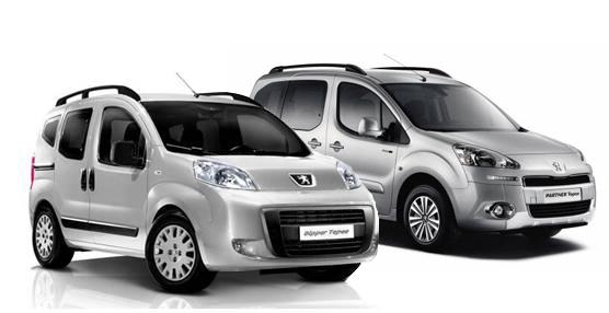 Peugeot presenta su nueva seriede modelos comerciales Bipper y Partner Tepee Style