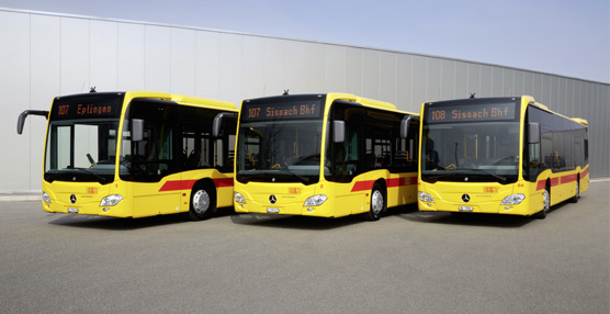 La empresa suiza BLT Baselland acuerda con Mercedes-Benz la compra de nueve Citaro Euro 6 para amplíar su flota