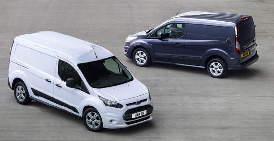 Ford presenta en el salón de Birmingham su nuevo vehículocompacto, elTransit Courier