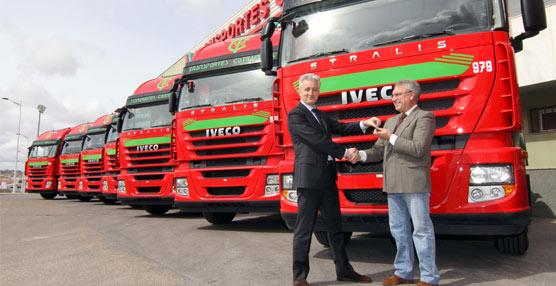 Transportes Caudete adquiere 90 Iveco Ecostralis para mejorar su productividad