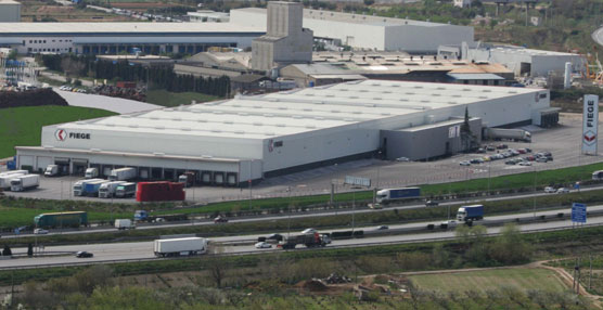 Fiege apuesta por la logística del gran consumo a través de su plataforma de Castellbisbal