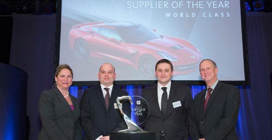 ALGAI, joint venture formada por GEFCO y TC Axis, es el Proveedor del Año 2012 para General Motors