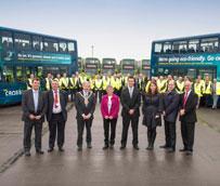 Arriva North West recibe 44 autobuses Volvo híbrido en el mayor pedido de este tipo en las afueras de Londres