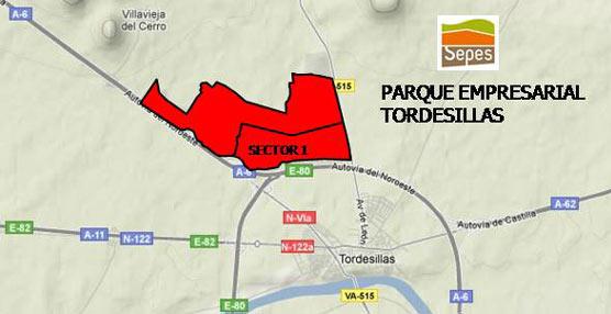 Fomento mejorará con 1.800.000 euros los accesos al parque industrial de Tordesillas