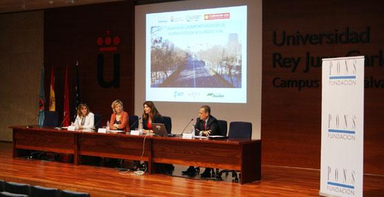 La Universidad Rey Juan Carlos organiza una jornada sobre seguridad vial para cerca de 300 estudiantes
