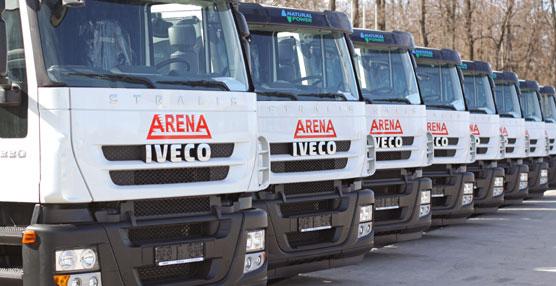 Iveco entrega 20 Stralis de GNC a la compañía petrolera búlgara Arena IT