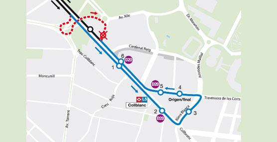 El nuevo autobús híbrido biarticulado de Transporte de Barcelona comienza los recorridos de prueba por la Gran Vía