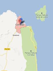 El Cabildo de Fuerteventura saca a contratación la nueva parada preferente de guaguas de Corralejo
