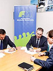 La Fundación Michelin Desarrollo fomenta la creación de empleo en las Pymes de Guipúzcoa, Álava, Burgos y Valladolid