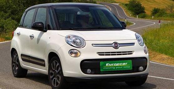 La empresa de alquiler de vehículos Europcar incorpora el modelo Fiat 500L a su flota de vehículos