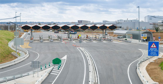 Una de las autopistas de la red del Grupo Abertis en España.