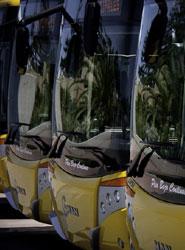 Las empresas de autobuses aplican la subida anual del 2,45% al billete de autobús interurbano