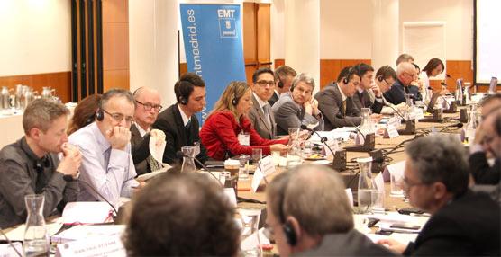 EMT Madrid ha sido la anfitriona del 94º Bus Committee de la UITP