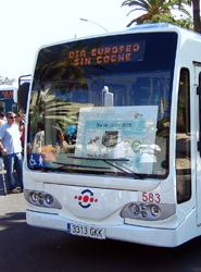 Fenebus denuncia que la EMT de Málaga gastó 250.000 euros en un autobús eléctrico que no utiliza