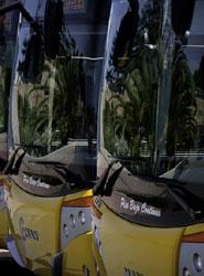 El transporte urbano verá reducidos sus ingresos en un 1% por el descenso de viajeros, según Fenebús