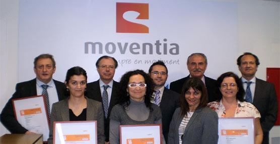Moventis recibe los certificados ISO 9001, ISO 14001, OHSAS 18001 y UNE 13816, 'avalando su calidad'