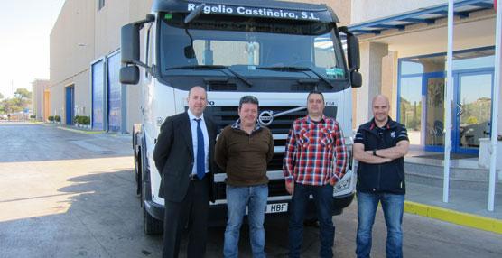 Volvo entrega un año de mantenimiento gratuito, valorado en 2.000 euros, a Rogelio Castiñeira S.L.