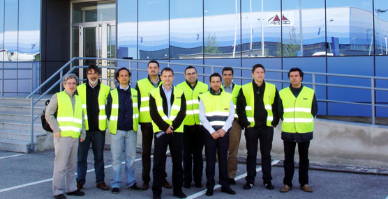Alumnos del Master en Dirección y Gestión de Empresas de Transporte de CETM visitan la planta de GEFCO en Toledo