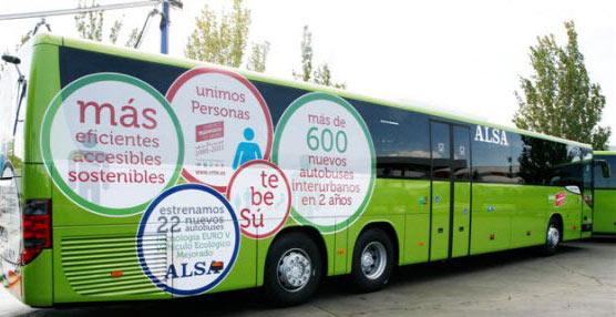 CC.OO. y UGT convocan varios días de huelga de autobuses interurbanos de la Comunidad de Madrid
