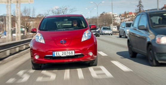 El Nissan Leaf consigue la segunda posición en la lista de ventas de Noruega