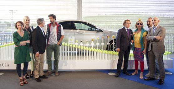 Mercedes-Benz inaugura la exposición 'Mercedes-Benz Open Fashion' en el marco del torneo Mutua Madrid Open