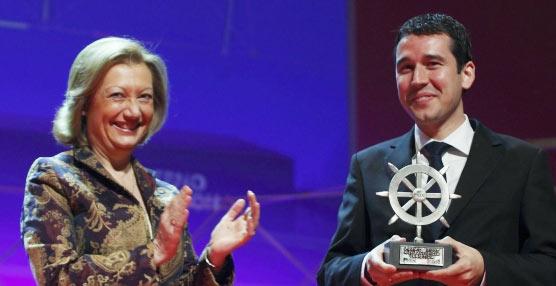 Momento de la entrega de los premios Pilot en la clausura del foro 2013.