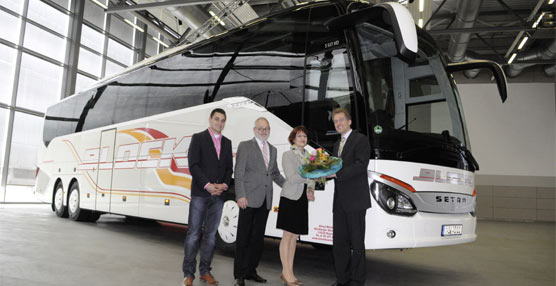 Daimler entrega un ComfortClass 500 S 517 HD al operador alemán de la Baja Sajonia, Block Busreisen