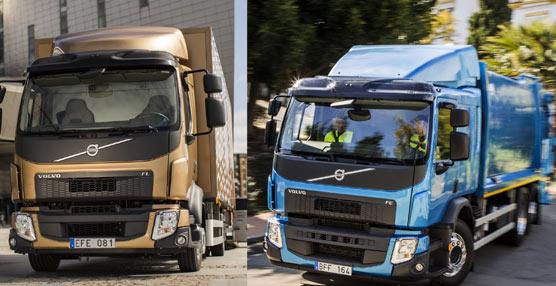 Volvo ha mejorado la eficiencia de estos vehículos al mismo tiempo que ha trabajado en una mayor comodidad para el conductor.