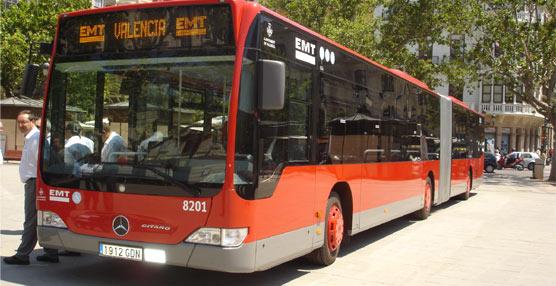 EMT Valencia modifica varias líneas para dar cobertura al nuevo complejo administrativo Nou d'Octubre