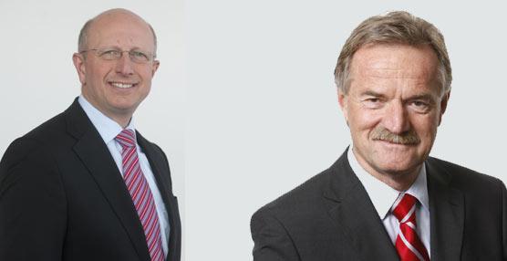 Ennerst (izquierda) sustituye a Weiberg (derecha) al frente de la división de camiones de la compañía.