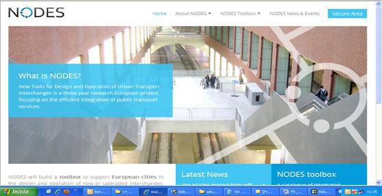 Página web del proyecto NODES.