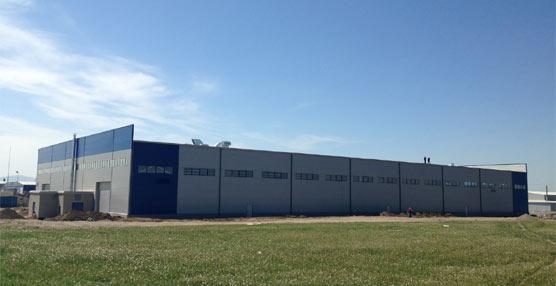 El nuevo centro de producción de Indcar, que abrirá sus puertas en Junio.