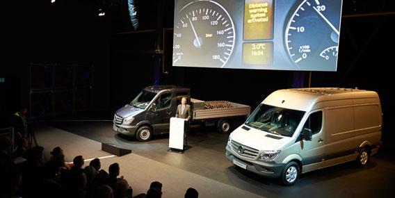 Mercedes-Benz presenta su nueva Sprinter, más eficiente, más ecológica y adaptada a la norma Euro 6