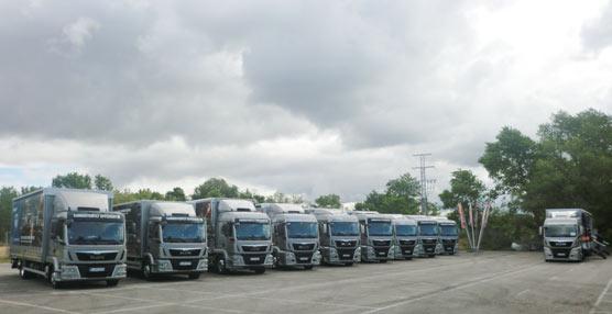 MAN Truck & Bus acerca su nueva gama Euro 6 a más de un centenar de clientes de la zona centro