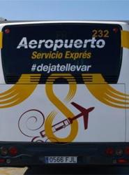 Más de 700.000 viajeros han utilizado la línea especial al aeropuerto de Sevilla en su primer año de servicio