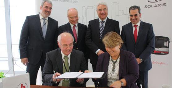 Braunschweig amplia su contrato con Solaris con el pedido de tres nuevos vehículos Tramino queentregará en2015