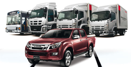 El fabricante japonés Isuzu cerró un 2012 'record' tanto en beneficios netos como en ventas, en comparación con 2011