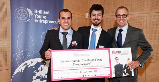 Hyundai destina 225.000 euros a financiar la creación de 15 empresas de jóvenes emprendedores europeos
