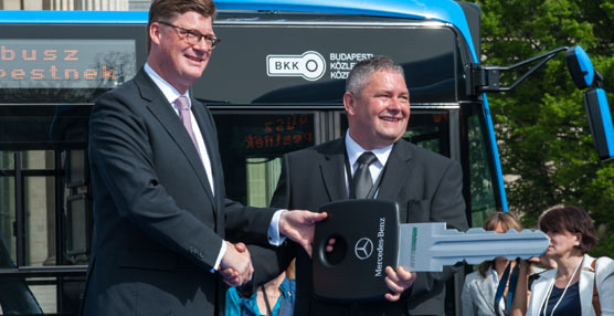 Daimler fabricarácerca de500autobuses Mercedes y Setra para las empresas de transporte de Austria y Budapest