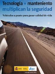 La DGT recuerda a través de un folleto la importancia del mantenimiento del vehículo de cara a la seguridad vial