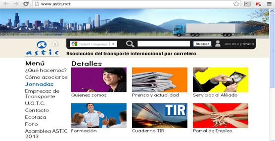 Astic pone en marcha una nueva web con un acceso 'más directo, organizado y dinámico a la información'