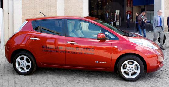 Carbon Expo celebra su décima edición conel Nissan Leaf como vehículo oficial