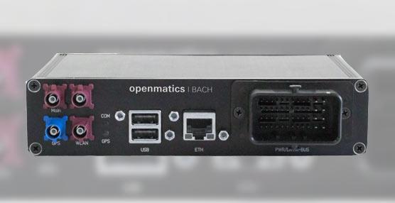 Openmatics presenta 'Bach', el nuevo tacógrafo digital de ZF que se dará a conocer en el Transport Logistic 2013