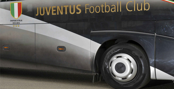 Goodyear Marathon Coach, el neumático que calzará el autocar de la Juventus italiana durante la próxima temporada