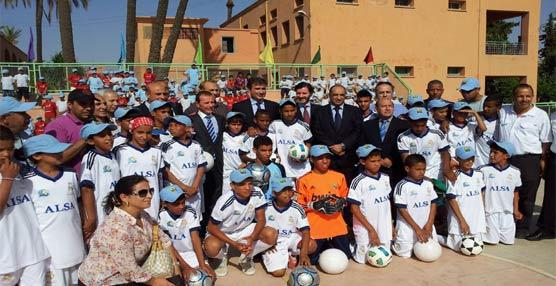 Alsa se convierte en el nuevo socio de la Fundación Realmadrid para su escuela sociodeportiva en Marrakech
